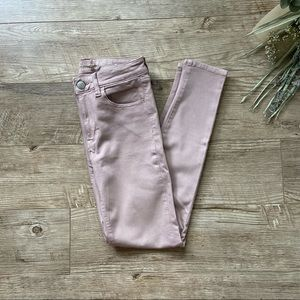 American Eagle Pink High Rise Jegging size 2